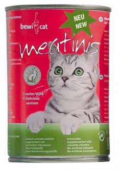 BEWI CAT meatinis pro kočky - divočina 400 g