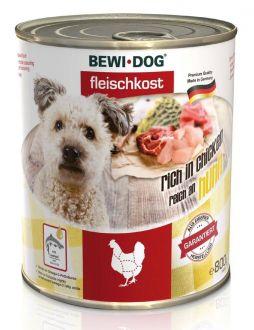BEWI DOG konzerva kuře 800 g