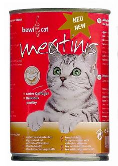 BEWI CAT meatinis pro kočky - drůbež 400 g