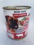 BEWI DOG konzerva hovězí držky 800 g